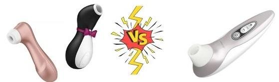Satisfyer Pro 2 vs Womanizer x Lovehoney Pro40